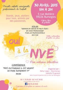JNVE organisée par Nelly Logez et Isabelle Prugnaud
